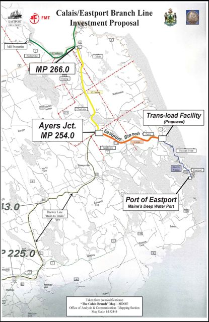Potential Rail Connection to Eastport